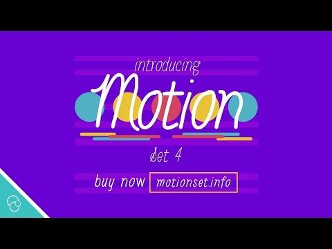 Introducing Motion Set 4 (4K) - Motion Backgrounds