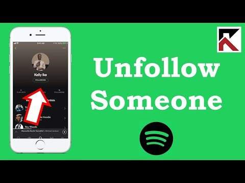 How To Unfollow Someone On Spotify