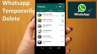 How To Disable Whatsapp Account Temporarily In Android Phone Hindi