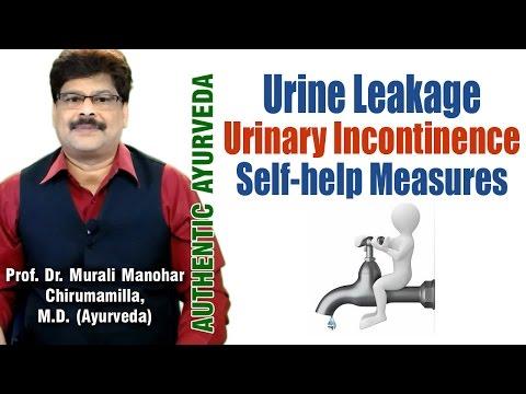 Urine Leakage | Urinary Incontinence | Ayurvedic Treatment | Dr. Murali Manohar Chirumamilla, M.D.