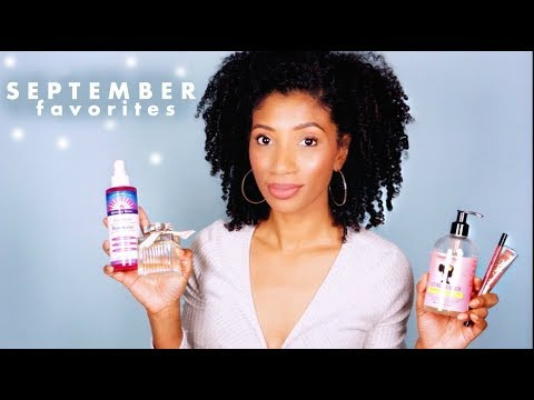 MY FAVORITE THINGS for September - Hair, Beauty, Life !