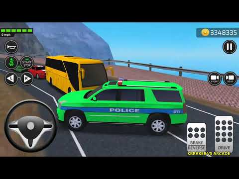 Car Driving Academy 2018 3D New Paint Jeep Police Car Unlocked Android Gameplay