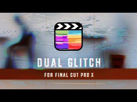 Dual Glitch Effects for Final Cut Pro X