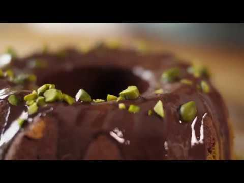 GREEN Matcha Chocolate Pistachio Marble Cake