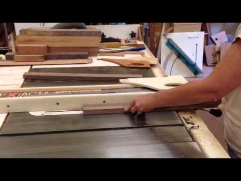 Cutting rabbet on table saw