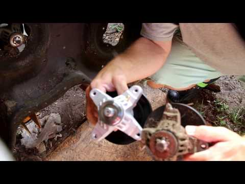 Lawn Mower Changing Spindle Assembly