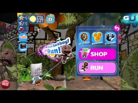 Run Sackboy! Run! - Stupendous Sticker Stash