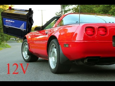 How to Replace a Battery in a C4 Corvette