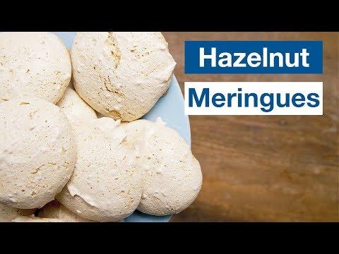 How To Make Hazelnut Meringues  Cookies || Le Gourmet TV Recipes