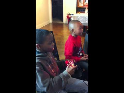 Saquan and Jesse playing GTA IV
