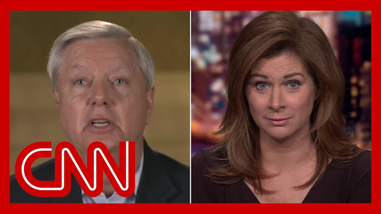 Burnett to Graham: Trump is trying to heal nation? He hasn't spoken once