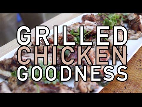 Fastest Grilled Chicken Tutorial (Cilantro Lime Recipe)- BenjiManTV