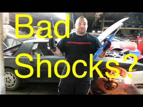 How to Tell if Your Shocks are Bad