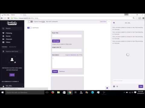 How to Make Clickable Links on Twitch