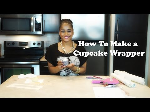 How To Make a Cupcake Wrapper