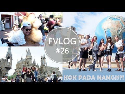 FVLOG: #26 Tokyo Disneysea vs Universal Studios Japan - Almiranti Fira