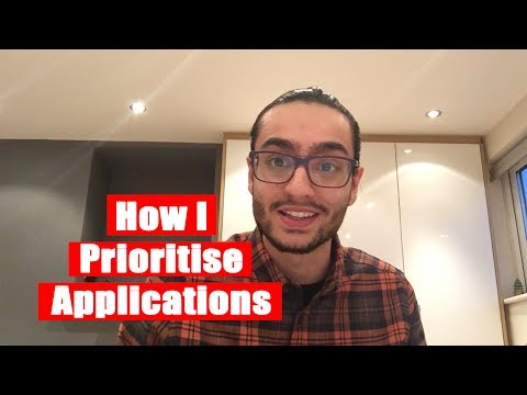 Aman ep. 15 - How I Prioritise Applications | The Great Grad Job Hunt