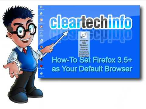 Set Your Default Browser to Firefox 3.5, How-To Guide