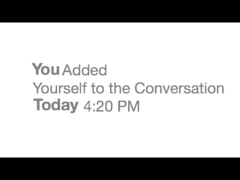 How To ADD Yourself Back Into a Group Chat | IOS 10 | 2017