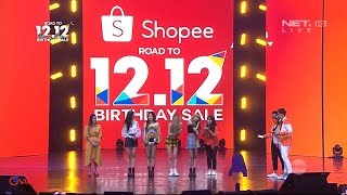 Blackpink Live in Shopee Road to 12.12 Birthday Sale - Full Show Full HD