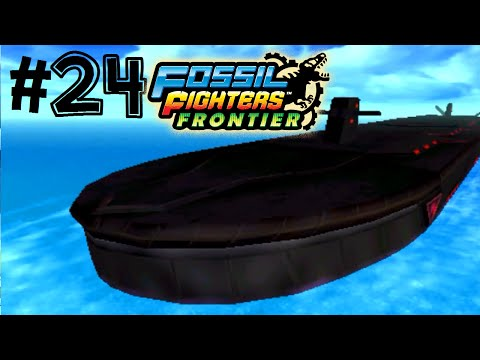 Fossil Fighters: Frontier Nintendo 3DS THE DEEP BLUE! Walkthrough/Gameplay Part 24 English!