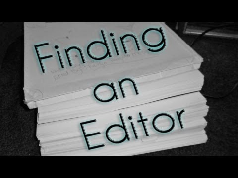 Self-Publishing: Finding an Editor