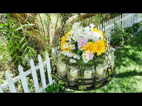 Paige Hemmis' DIY Garden Chandelier - Hallmark Channel