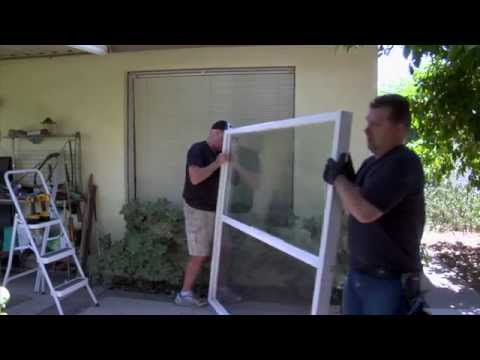 Installing windows on a brick or cinder block home