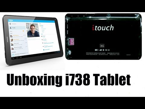 [Hindi-हिन्दी] Unboxing iTouch i738 (8GB, Wi-Fi, 3G Calling)