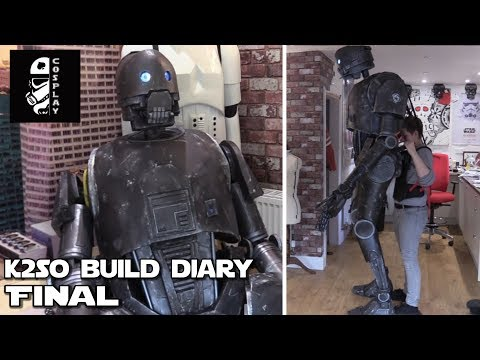 K2SO Build Diary - Part 5 - A Completed Droid!