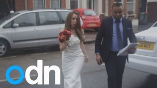 The Sham Wedding Crashers: Moment sham marriage is stopped mid-ceremony