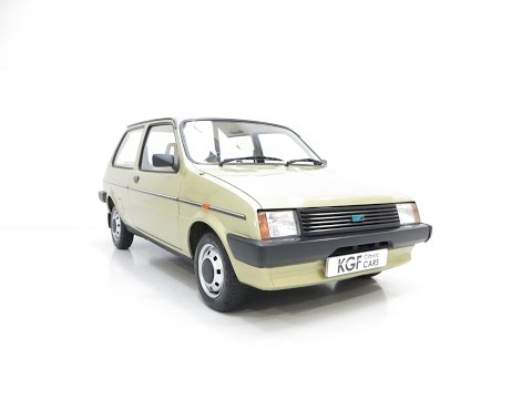 A Remarkable very Early Austin Mini Metro with 5,823 Miles from New - SOLD!