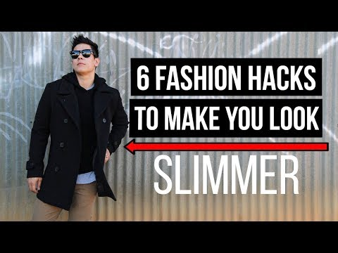 6 (EASY) FASHION HACKS THAT WILL MAKE YOU LOOK SLIMMER! | JAIRWOO