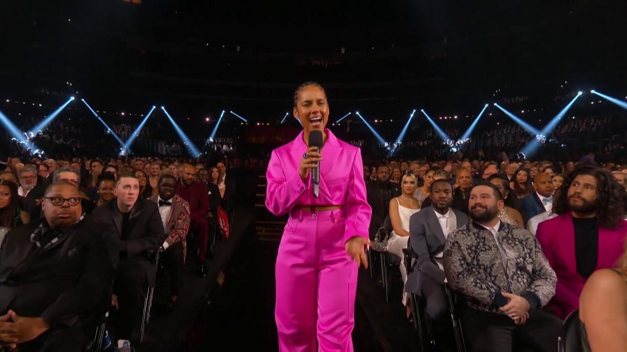 Alicia Keys talks to Gwen Stefani and Blake Shelton | 2020 GRAMMYs