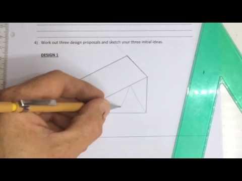 3D design of wheelchair ramp gr 9 project