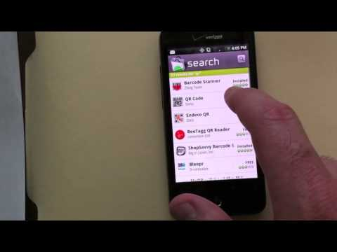 How to use QR codes on your Android device