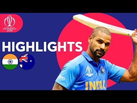 Xxx Mp4 India Vs Australia Match Highlights ICC Cricket World Cup 2019 3gp Sex