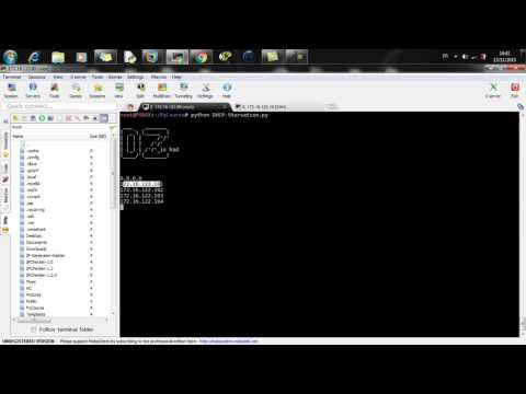 DHCP Starvation attack tool in python