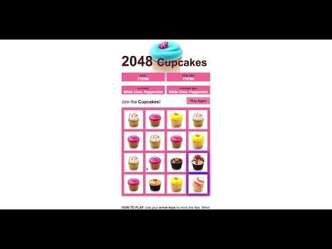 2048 Cupcakes Win