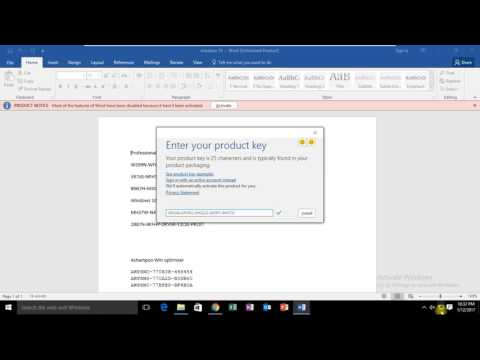 MS Office 2016 Pro Plus Product Key | Latest 2017