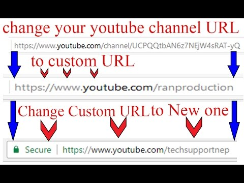How to Change Your YouTube Channel Custom URL Once You Changed it?