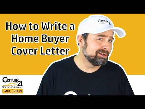 How to Write a Home Buyer Cover Letter