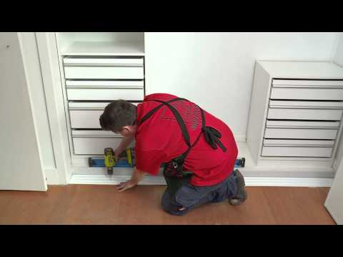 How To Install Sliding Wardrobe Doors - DIY With Bunnings