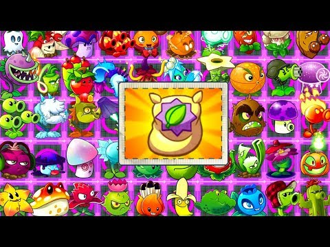 Ultimate Power Plants vs Zombies 2 Every Plant MAX LEVEL - All Tiles POWER-UP! Primal PVZ 2