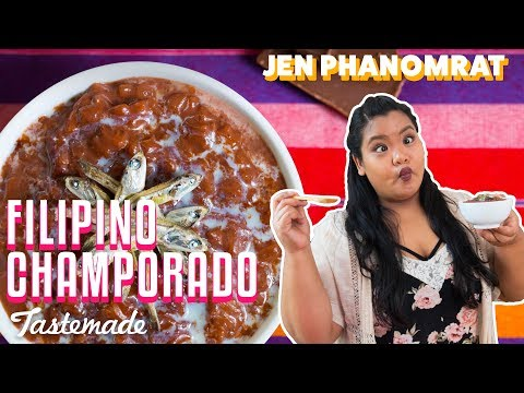 Filipino Champorado (Chocolate Rice) | Good Times with Jen