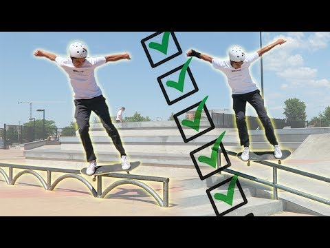 HOW TO PROGRESS IN SKATEBOARDING EP 1– Trick Lists