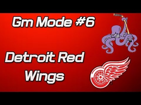 NHL 13: GM Mode Commentary - Detroit Ep. 6 ''Amazing Start''