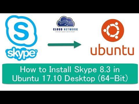How to Install Skype 8.3 in Ubuntu 17.10, 17.04, Debian 8.3 and Linux Mint 18 (64-Bit)