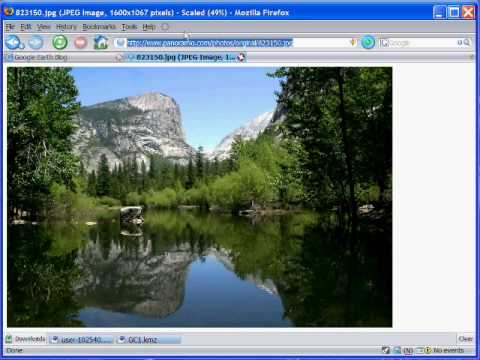 Add a Photo to Google Earth