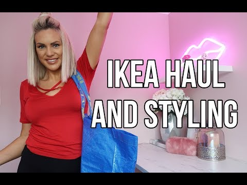 IKEA HAUL AND HOW I'VE STYLED THE ITEMS